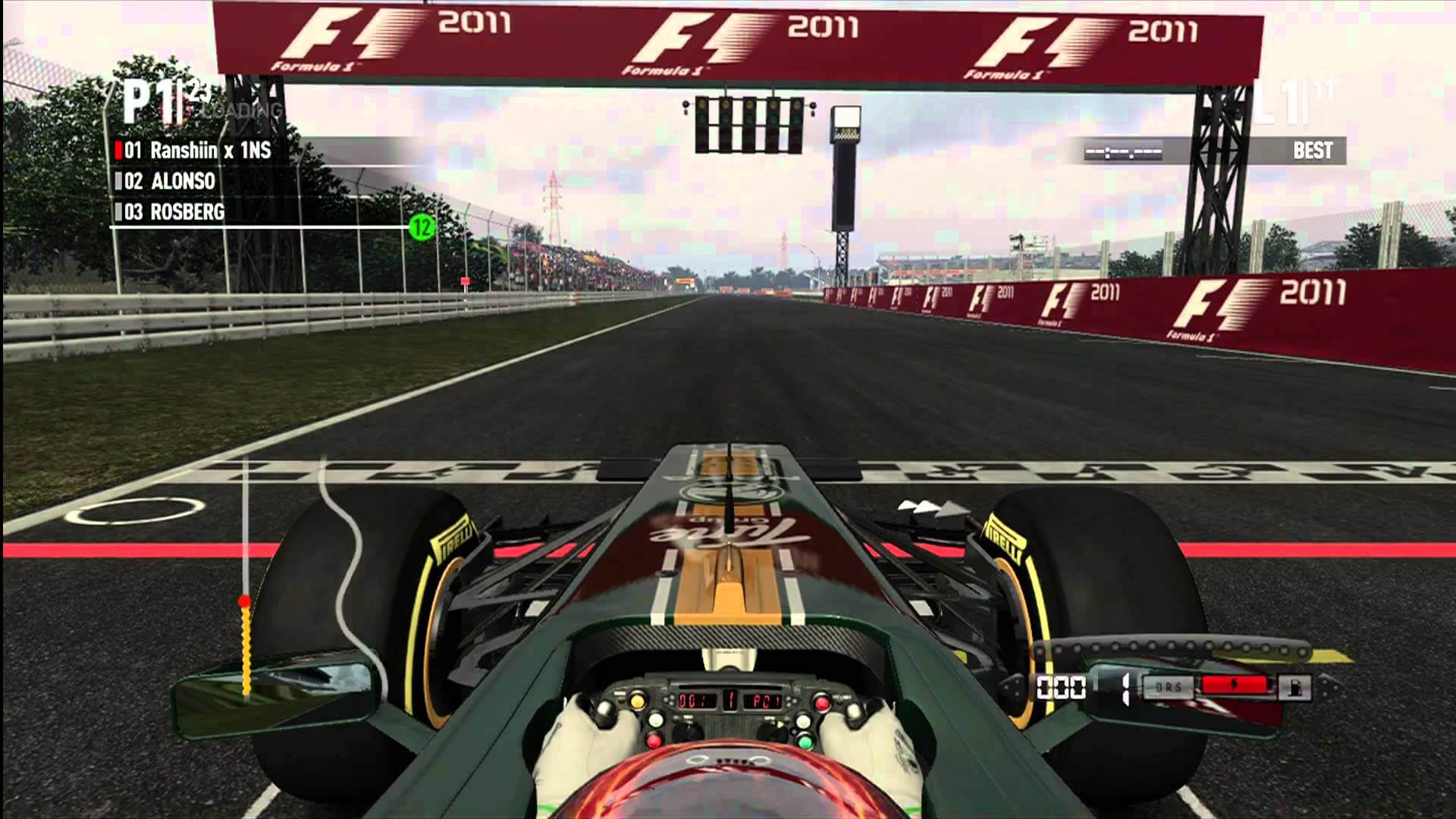 F1 2011 Guides