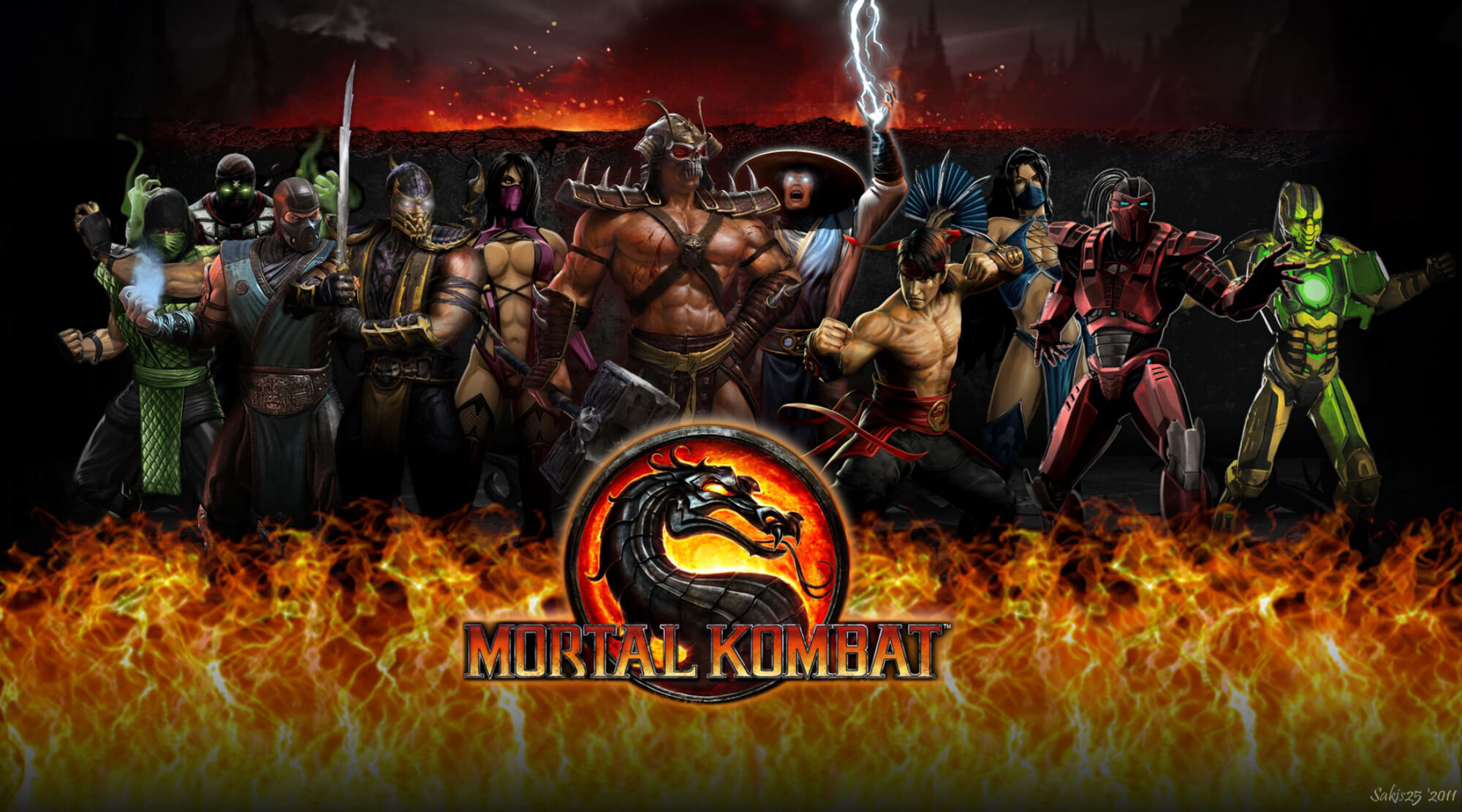Mortal Kombat 2011 Game Guide Cyber Sub Zero Video Games Wikis