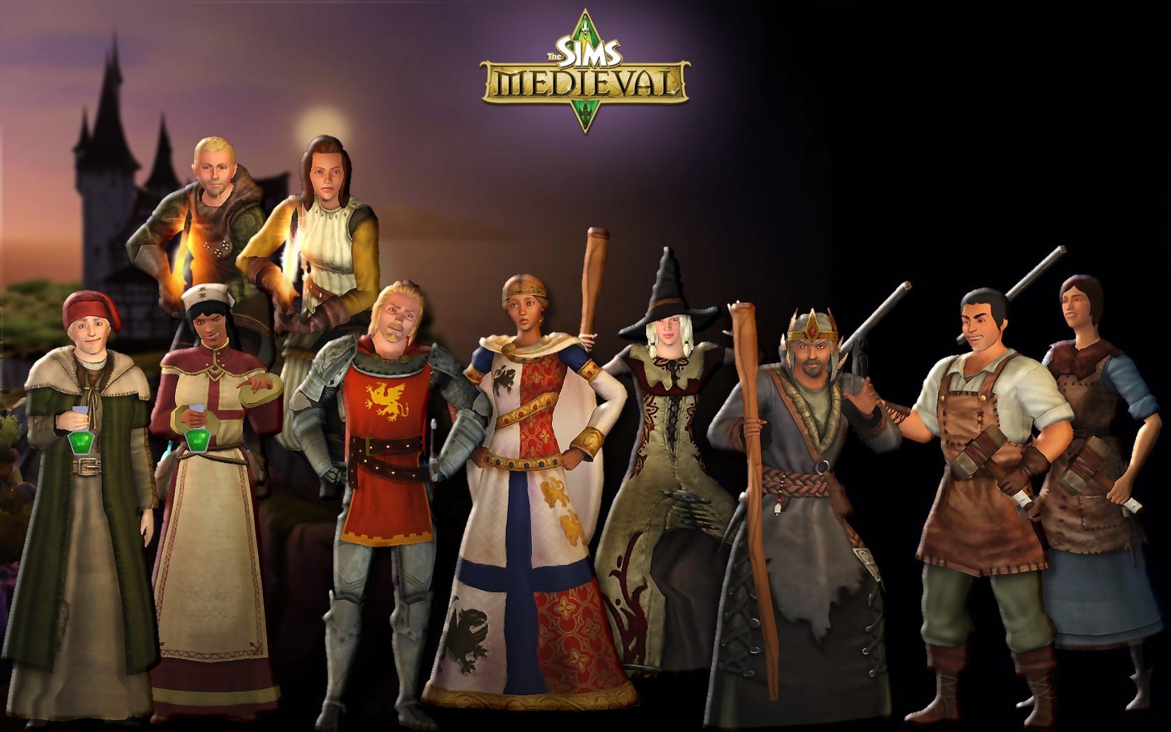 Руководство к игре The Sims Medieval.