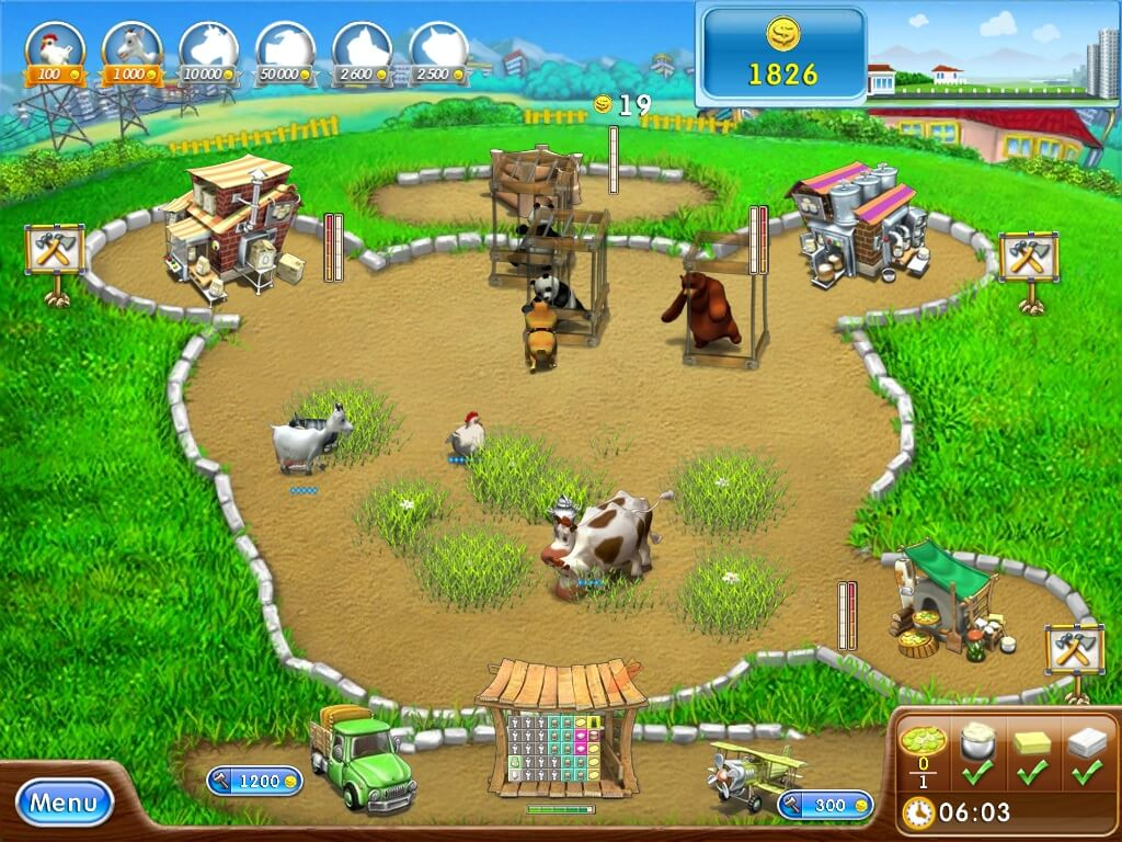 Farm Frenzy 2 Lösung