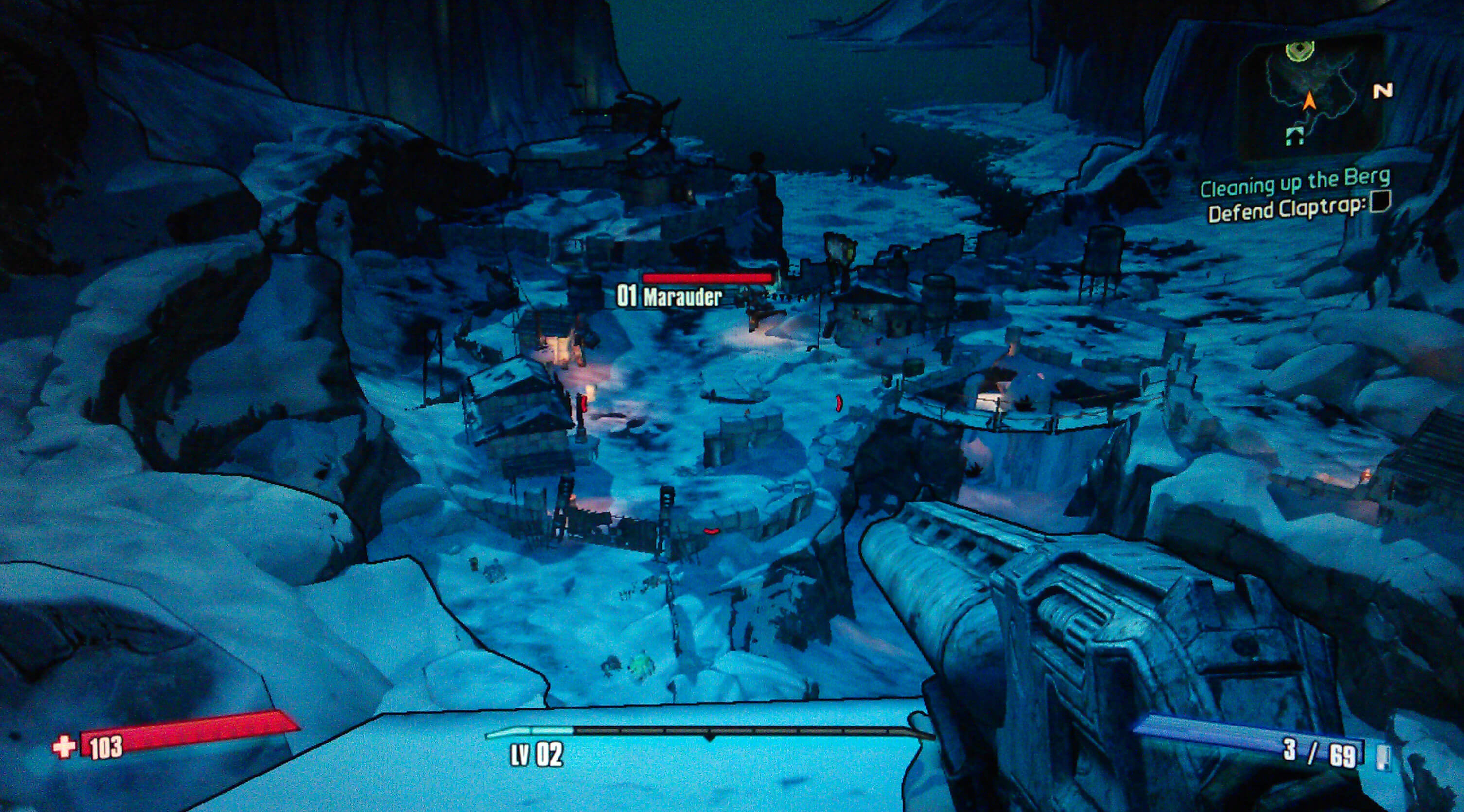 Borderlands 2 Cleaning Up the Berg Walkthrough