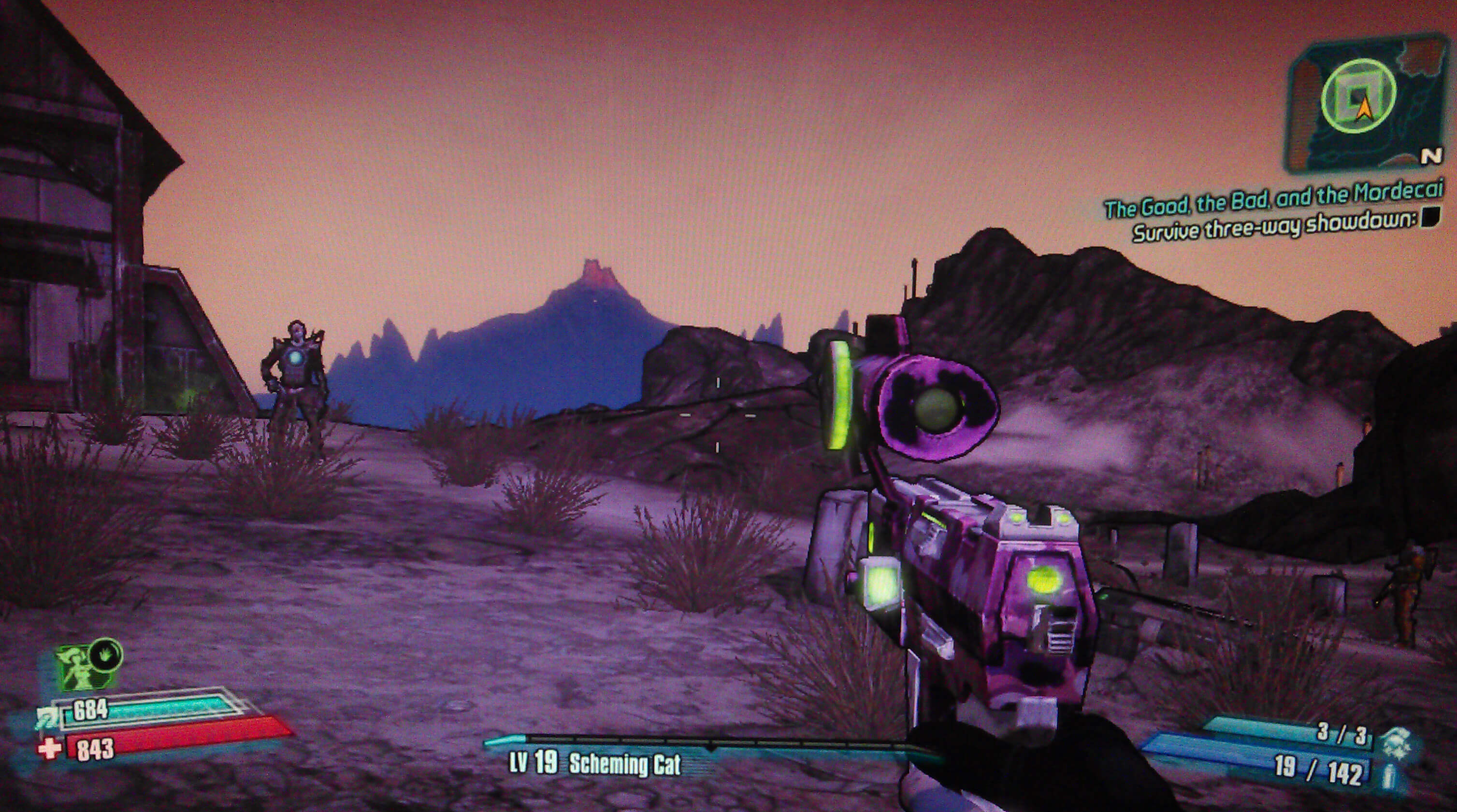 Borderlands 2 The Good the Bad and the Mordecai Walkthrough