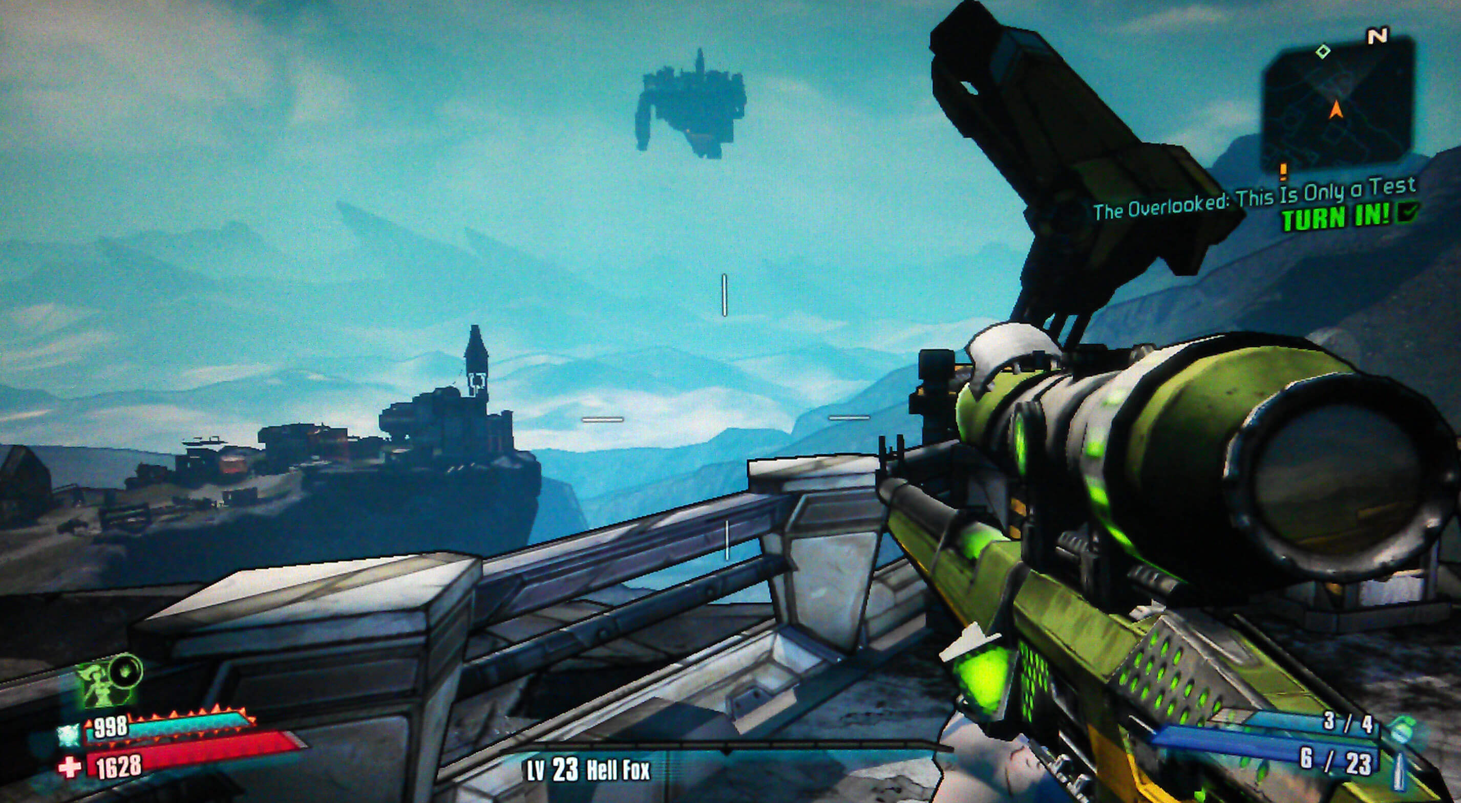 Borderlands 2 The Overlooked: This Is Only a Test Walkthrough