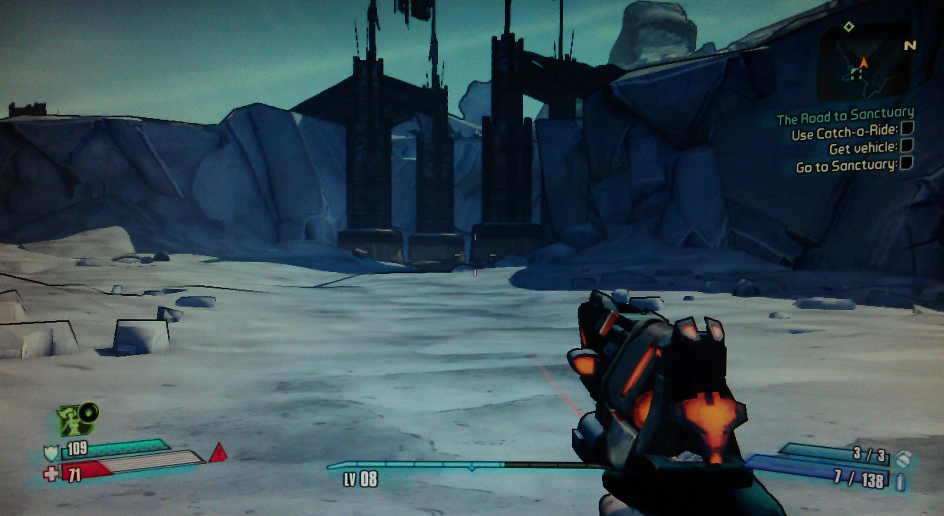 Borderlands 2 The Road to Sanctuary Walkthrough