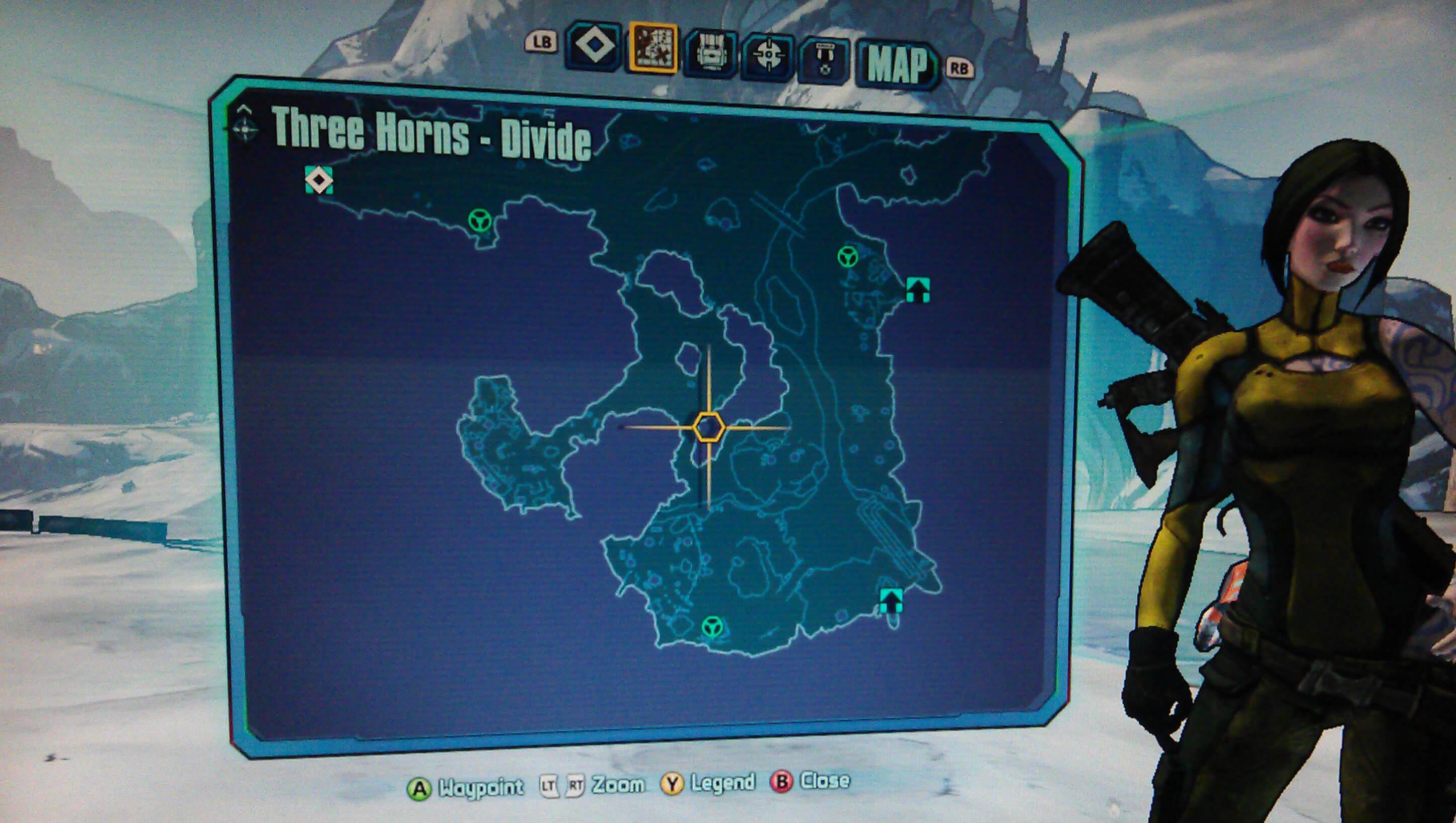 Borderlands 2 Three Horns Divide Walkthrough