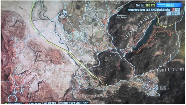 Forza Horizon Discount Signs Locations SE Map
