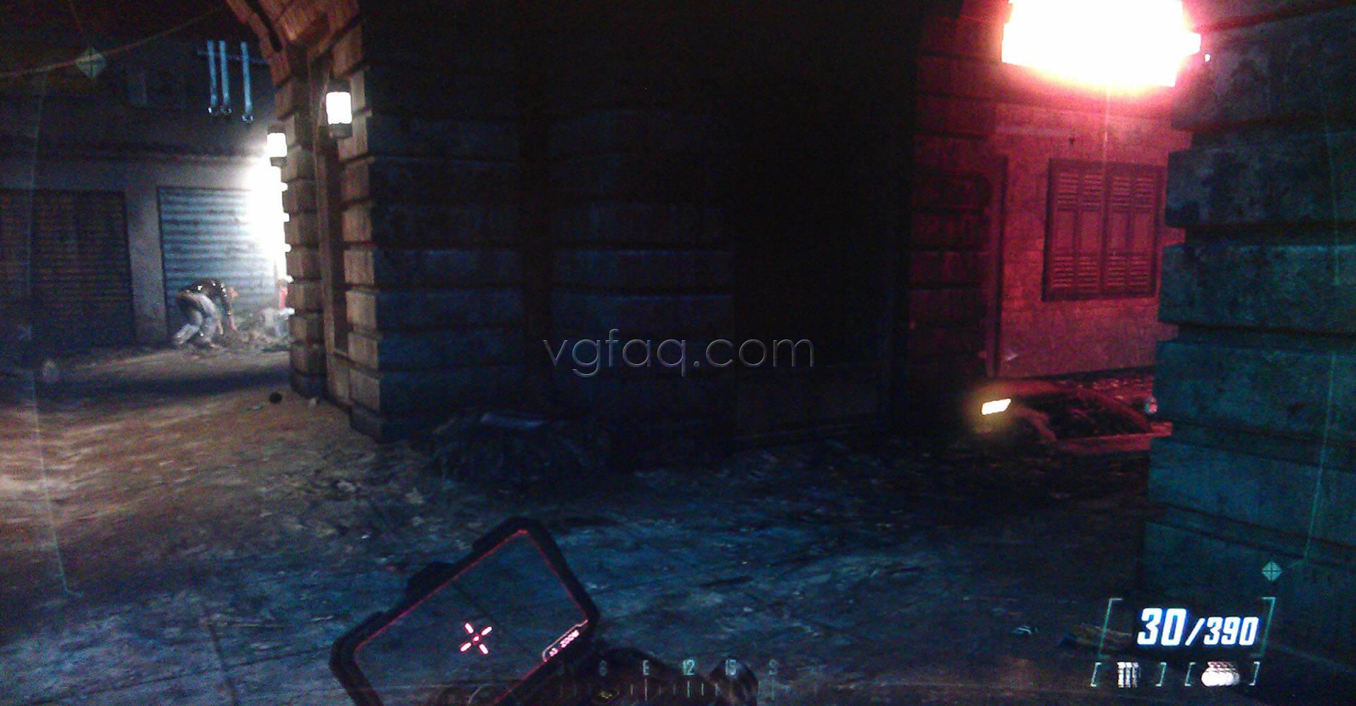 Black Ops II Fallen Angel Intel #2 Location