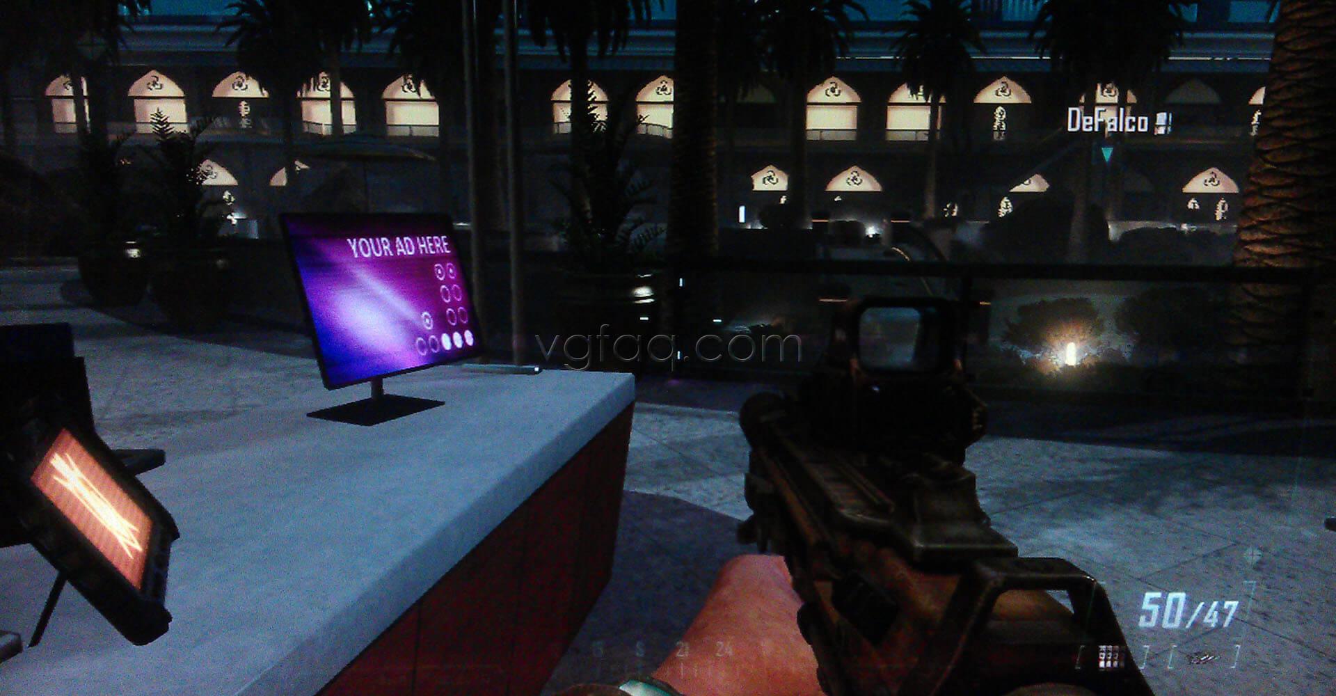 Black Ops II Karma Intel #3 Location