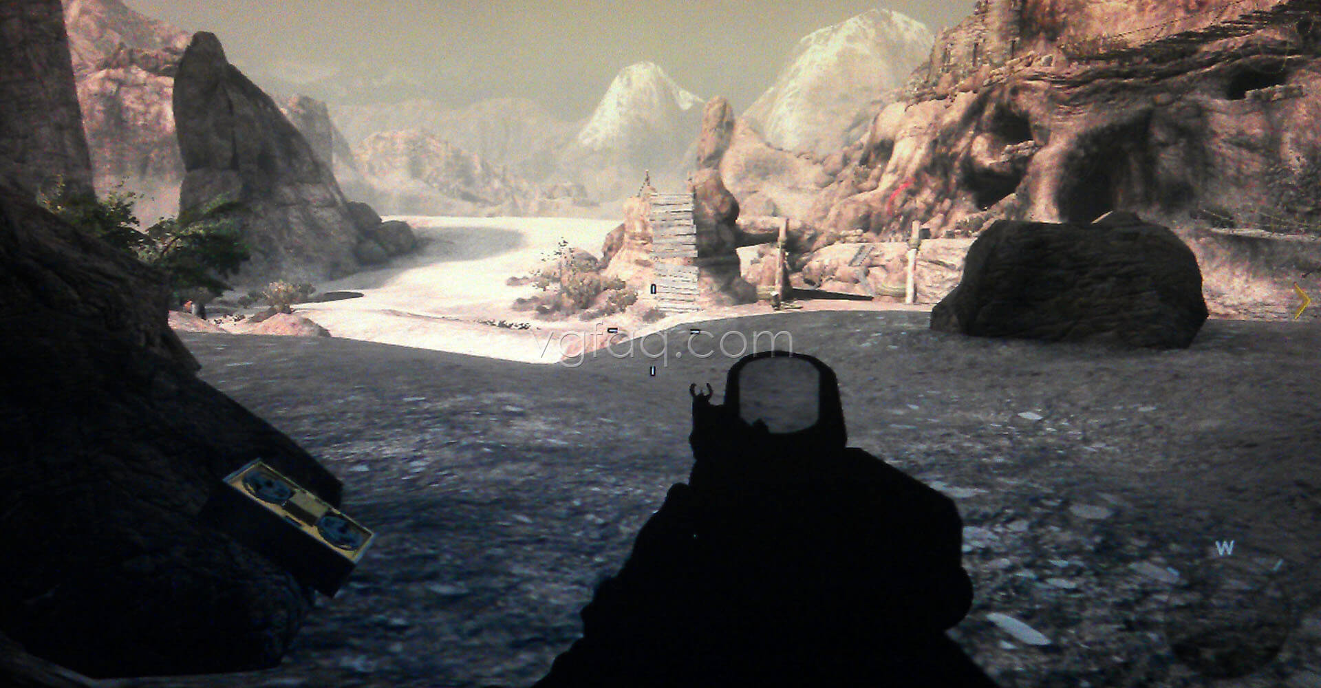 Black Ops II Old Wounds Intel #3 Location