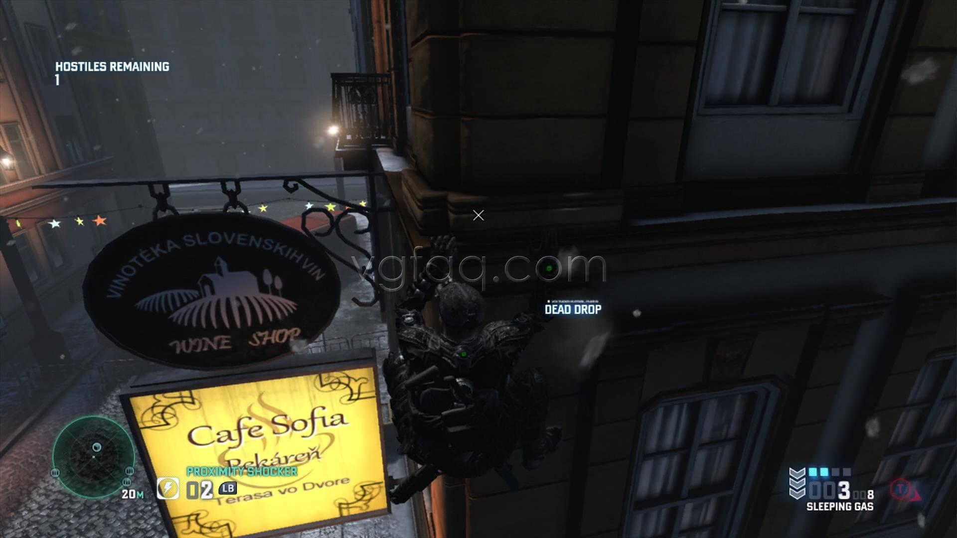 Splinter Cell Blacklist Egyptian Embassy Dead Drop Location
