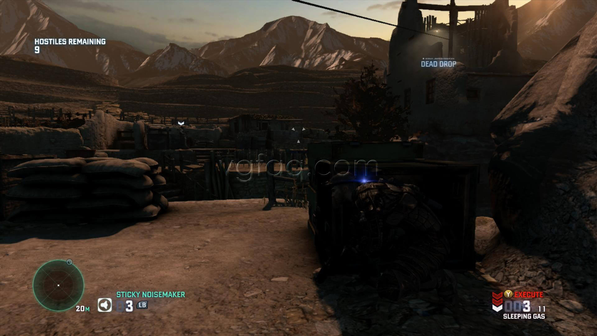 Splinter Cell Blacklist Opium Farm Dead Drop Location