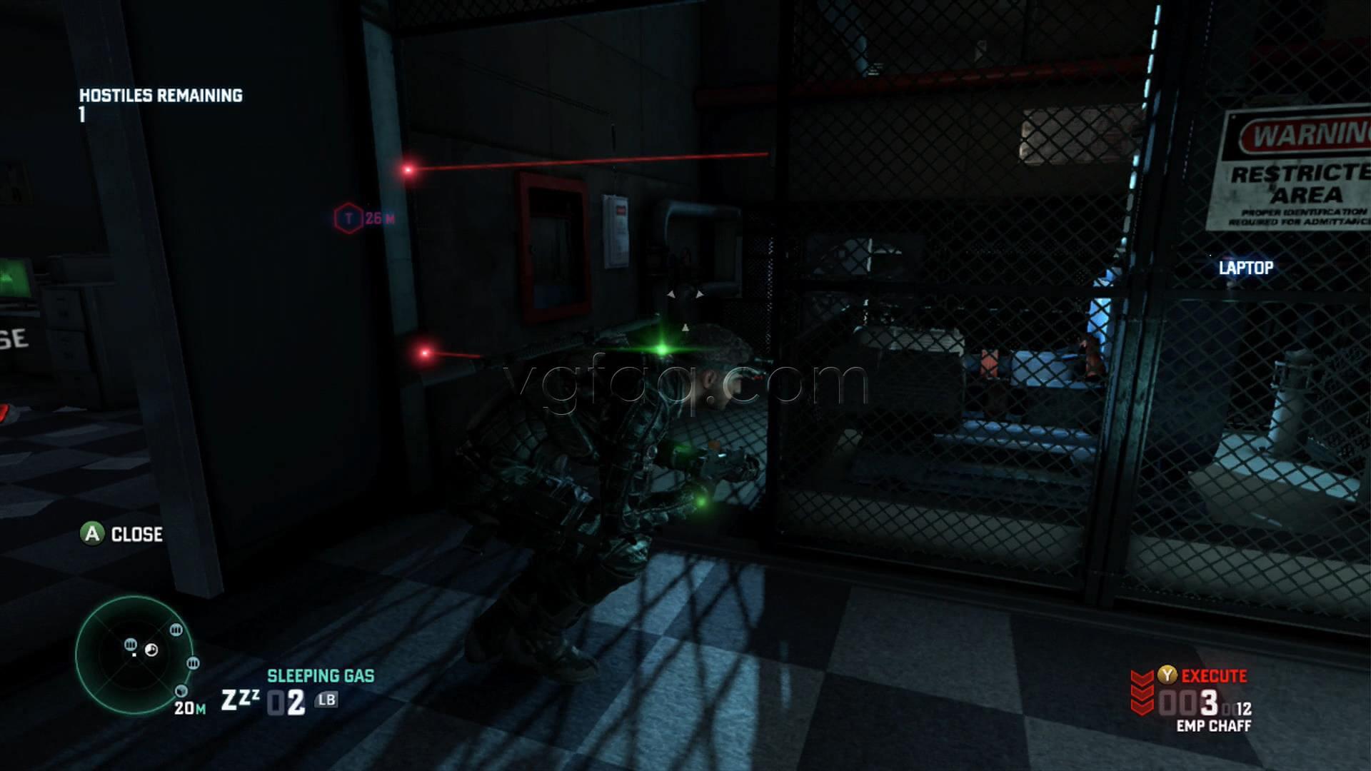Splinter Cell Blacklist Russian Embassy Blacklist Laptop Location