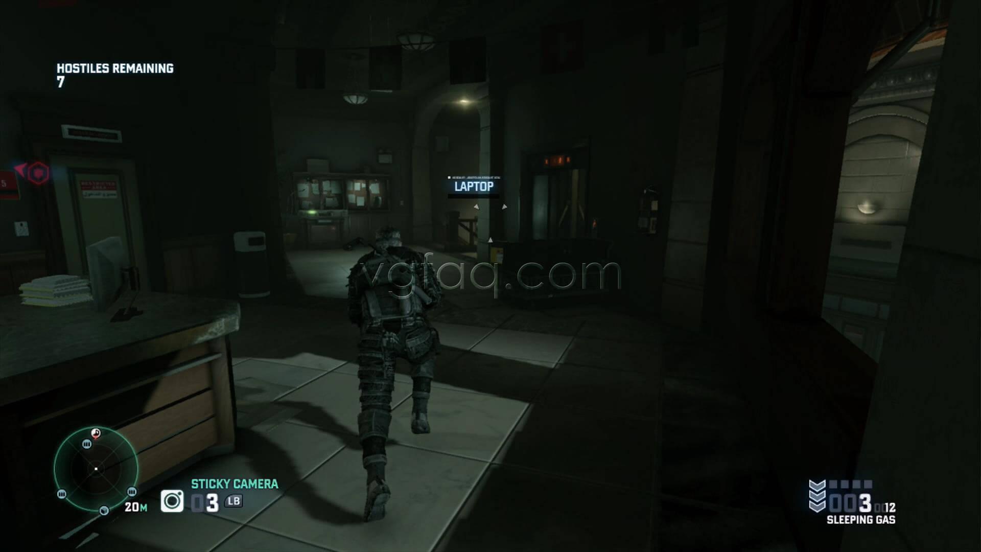 Splinter Cell Blacklist Swiss Embassy Blacklist Laptop Location