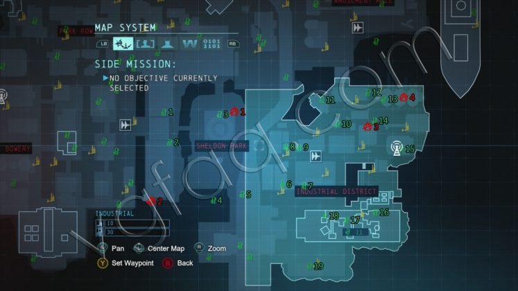 Batman: Arkham Origin Industrial District Collectibles Locations