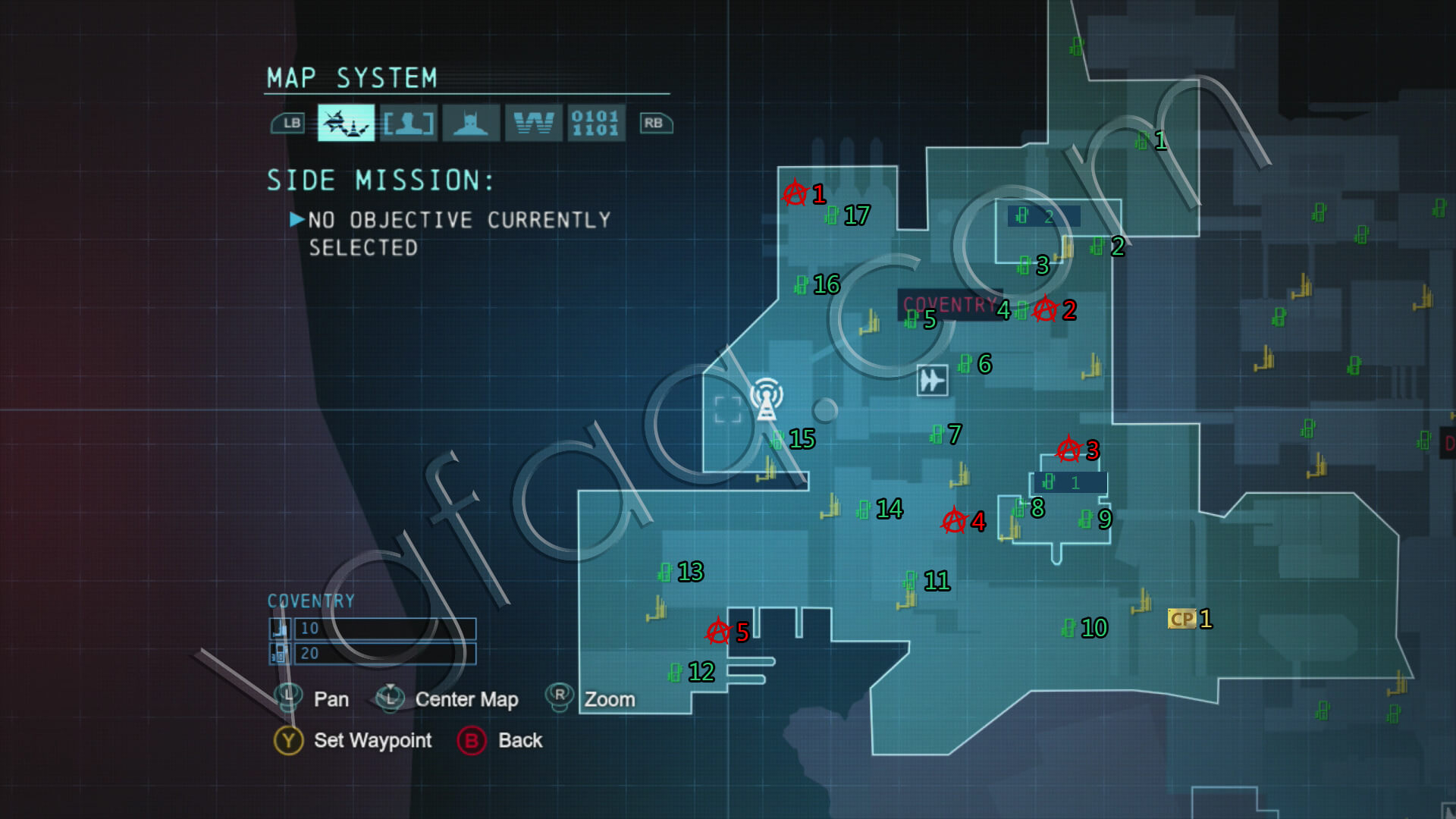 Batman: Arkham Origins Coventry Collectibles Locations