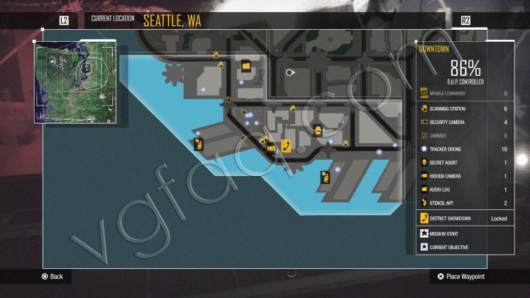 inFamous: Second Son Downtown District