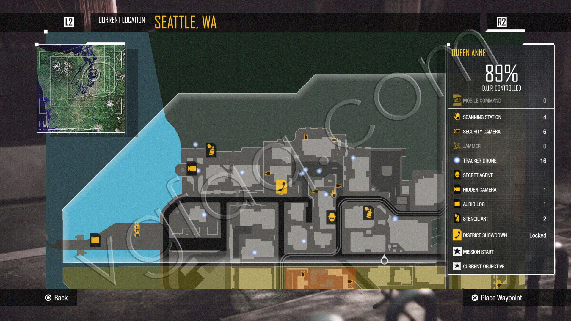 Second Use Seattle >> inFamous: Second Son Secret Agents Side Missions Guide - VGFAQ
