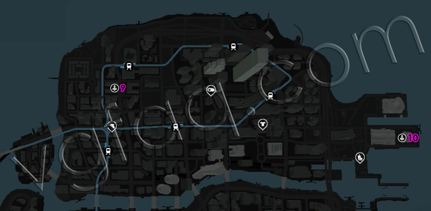 Watch Dogs Mad Mile Human Traffic Location
