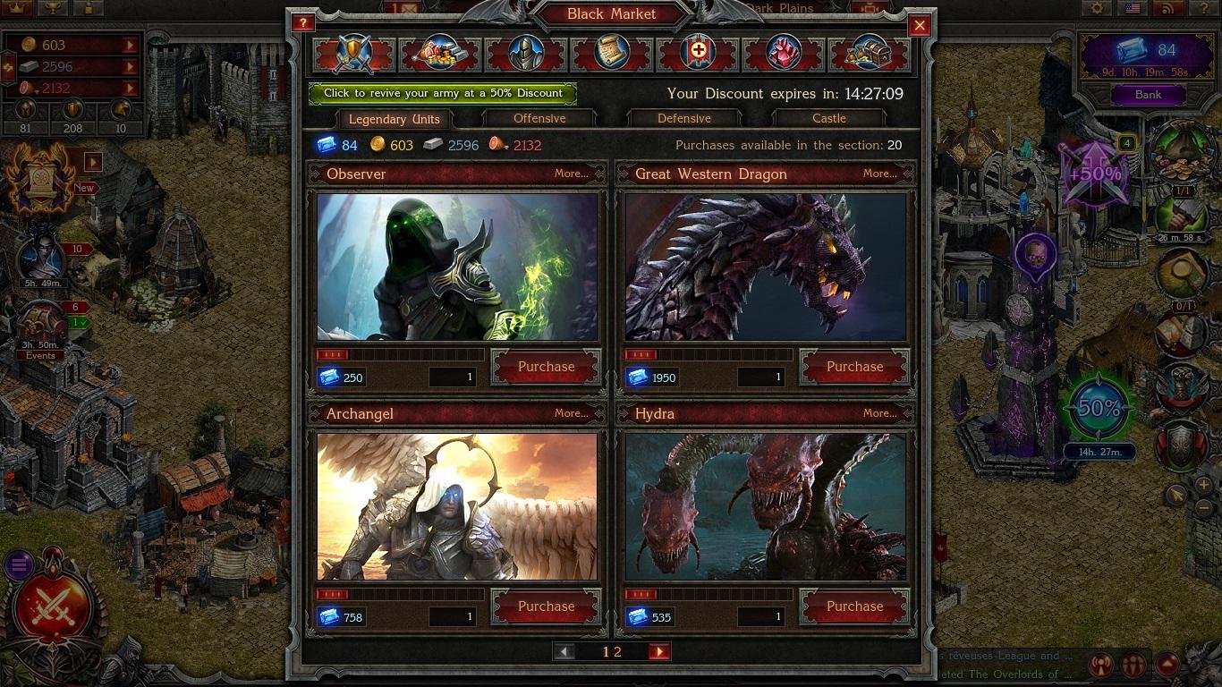 Stormfall: Age of War Hero Black Market