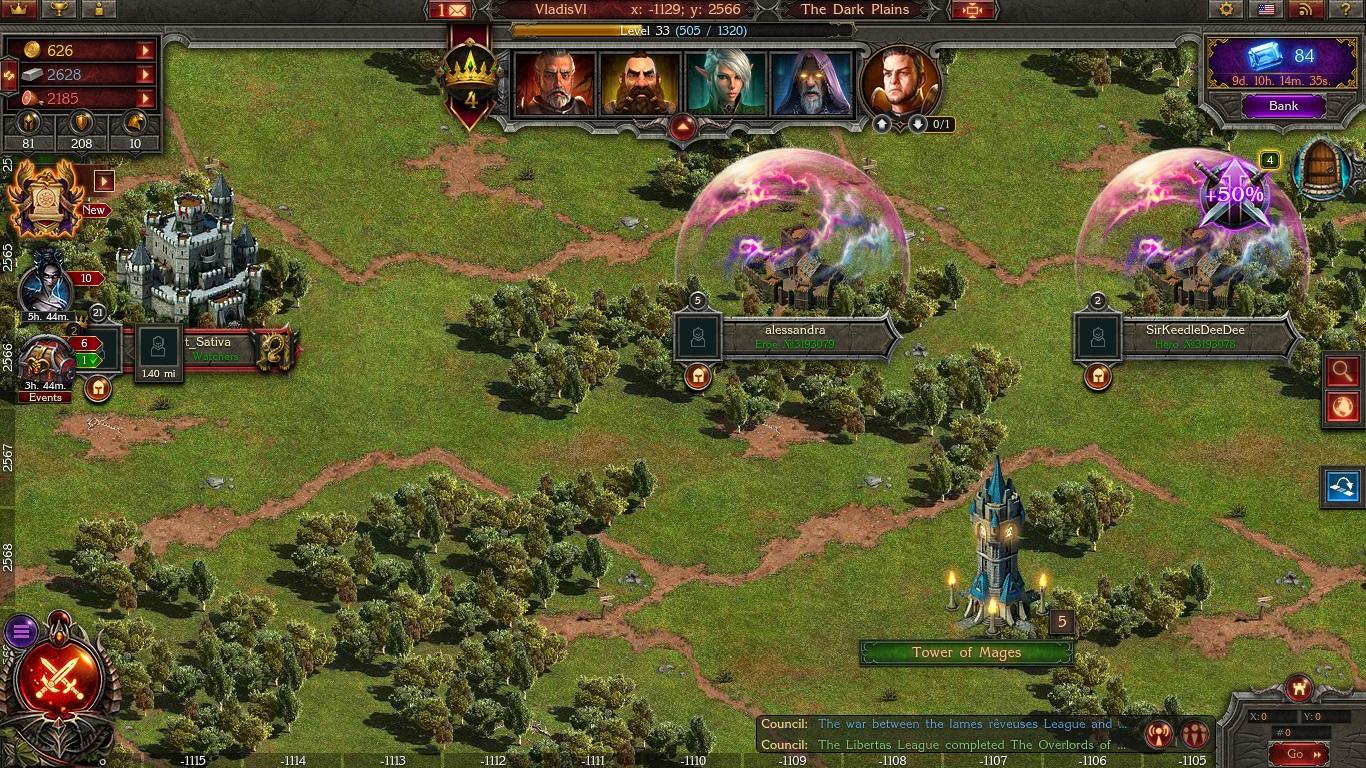 Stormfall: Age of War Hero Black Map