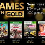 September 2016 Xbox Games with Gold Announced