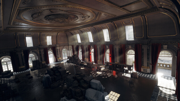 Battlefield 1 Ballroom Blitz Map