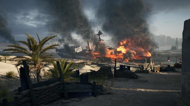 Battlefield 1 Suez Map