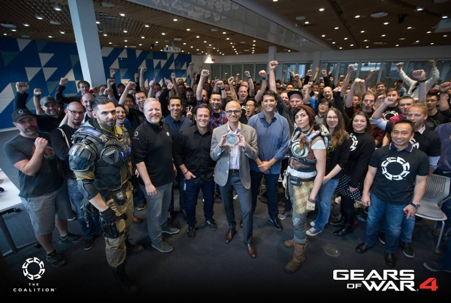 Couch Co-Op Coming to Gears of War 4