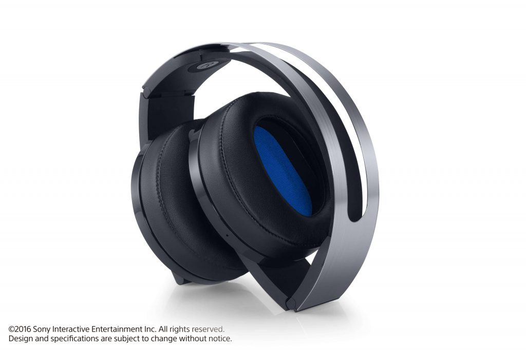 PlayStation 4 Pro Platinum Wireless Headset