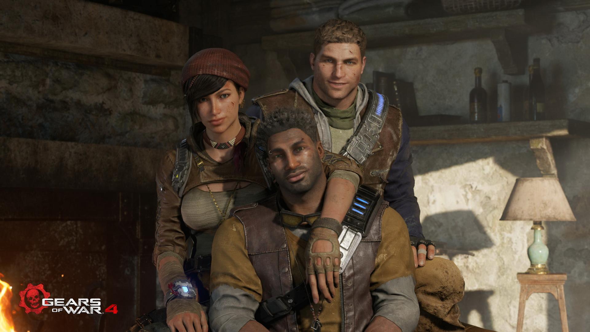 Gears of War 4 Family
