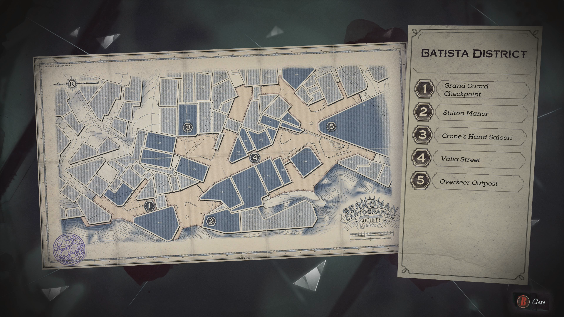 Dishonored 2 Mission 6 Collectibles Locations Guide