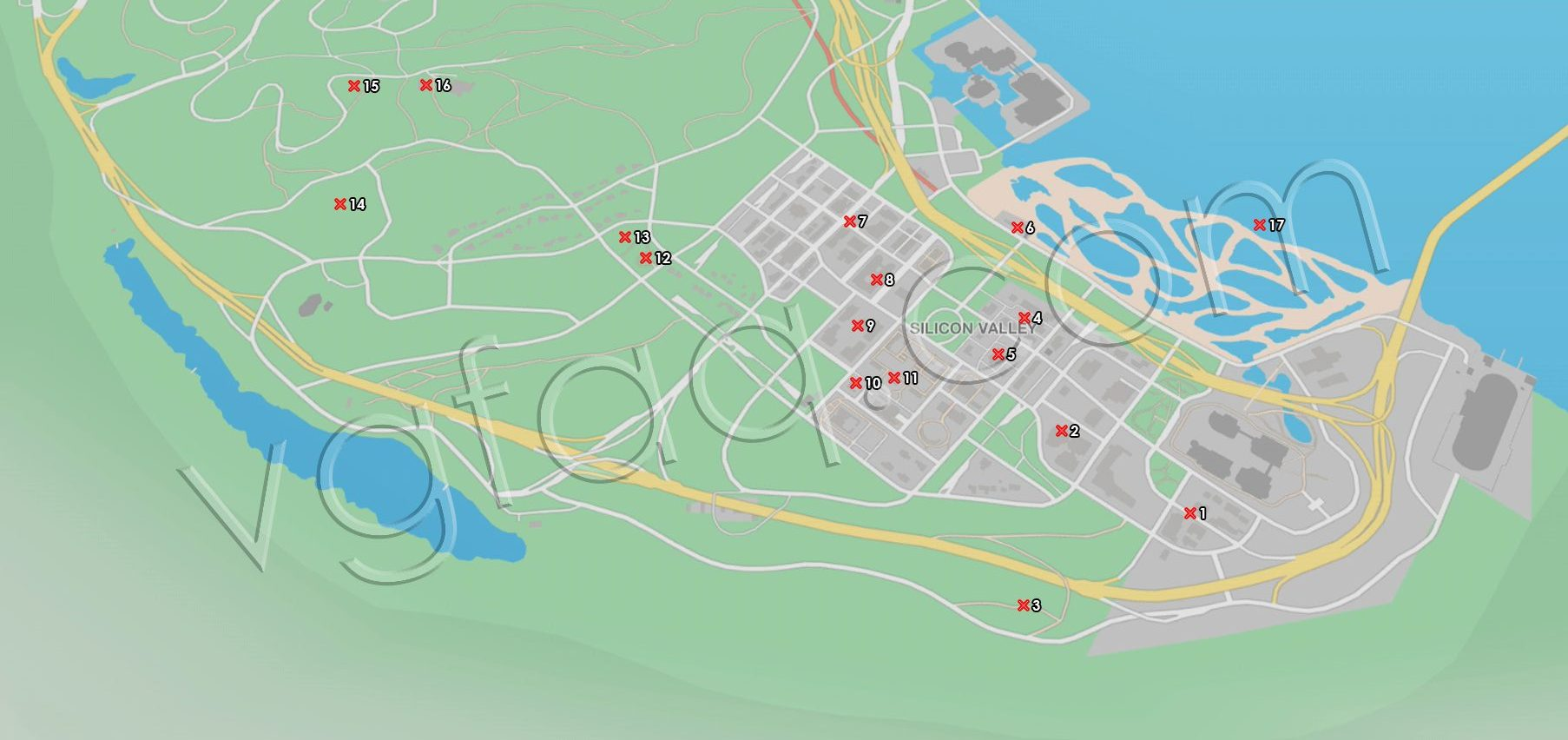 Research Point Locations Watch Dogs