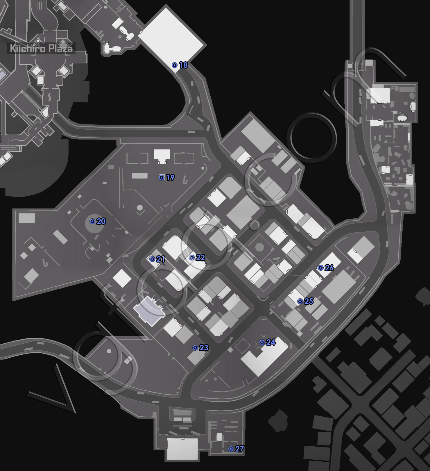 Dead Rising 4 Old Town Blueprints Locations Map