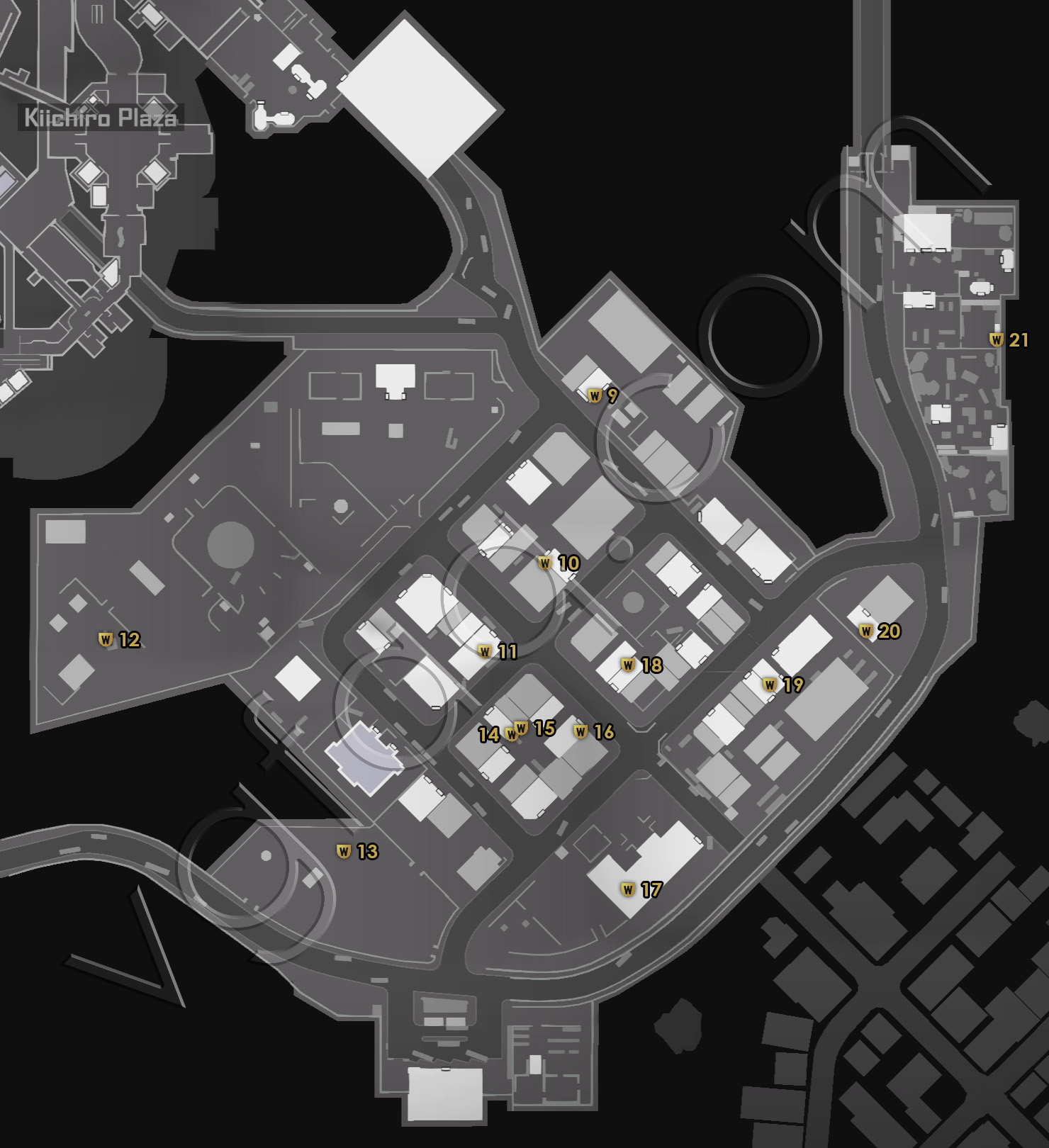Dead Rising 4 Old Town Newspapers Locations Map