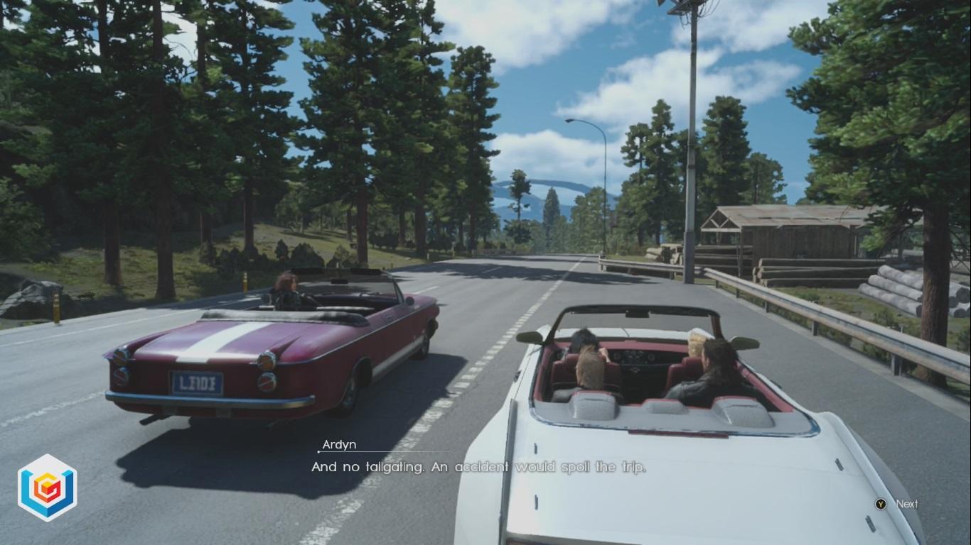 Final Fantasy XV A Dubious Drive Main Quest Walkthrough