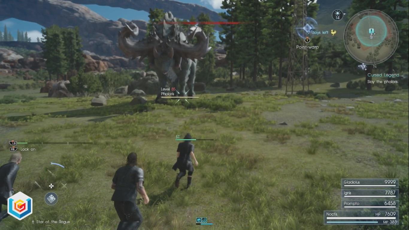 Final Fantasy XV Cursed Legend Side Quest Walkthrough