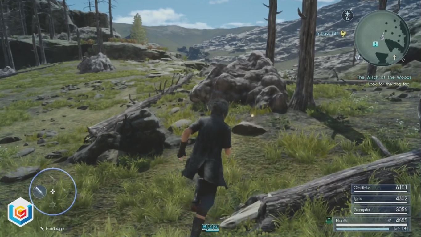 Final Fantasy XV The Witch of the Woods Side Quest Walkthrough