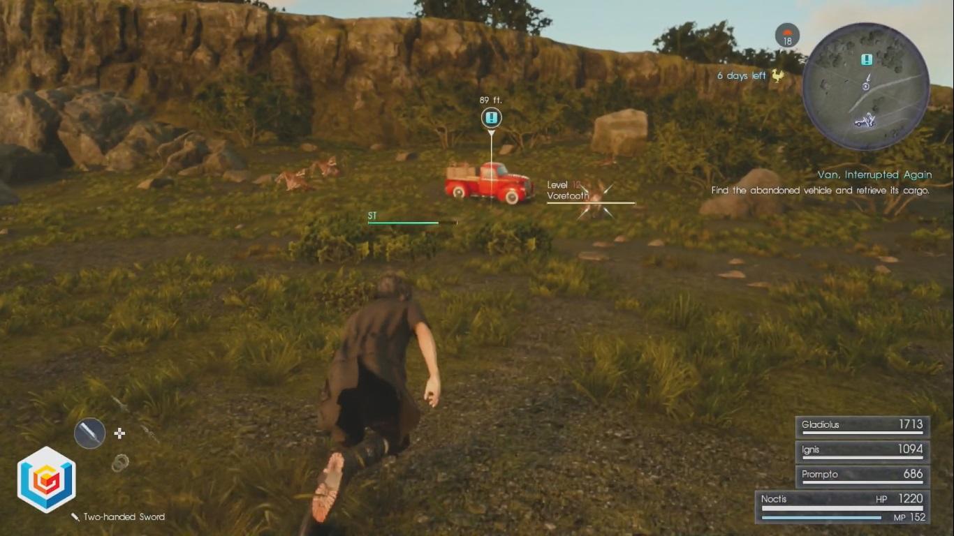 Final Fantasy XV Van, Interrupted Again Side Quest Walkthrough