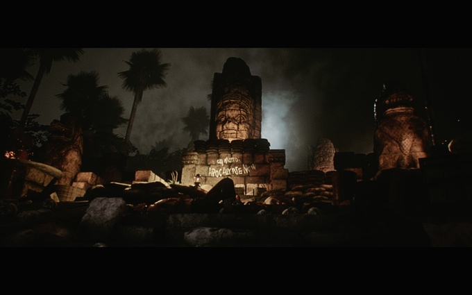 Apocalypse Now Video Game Temple