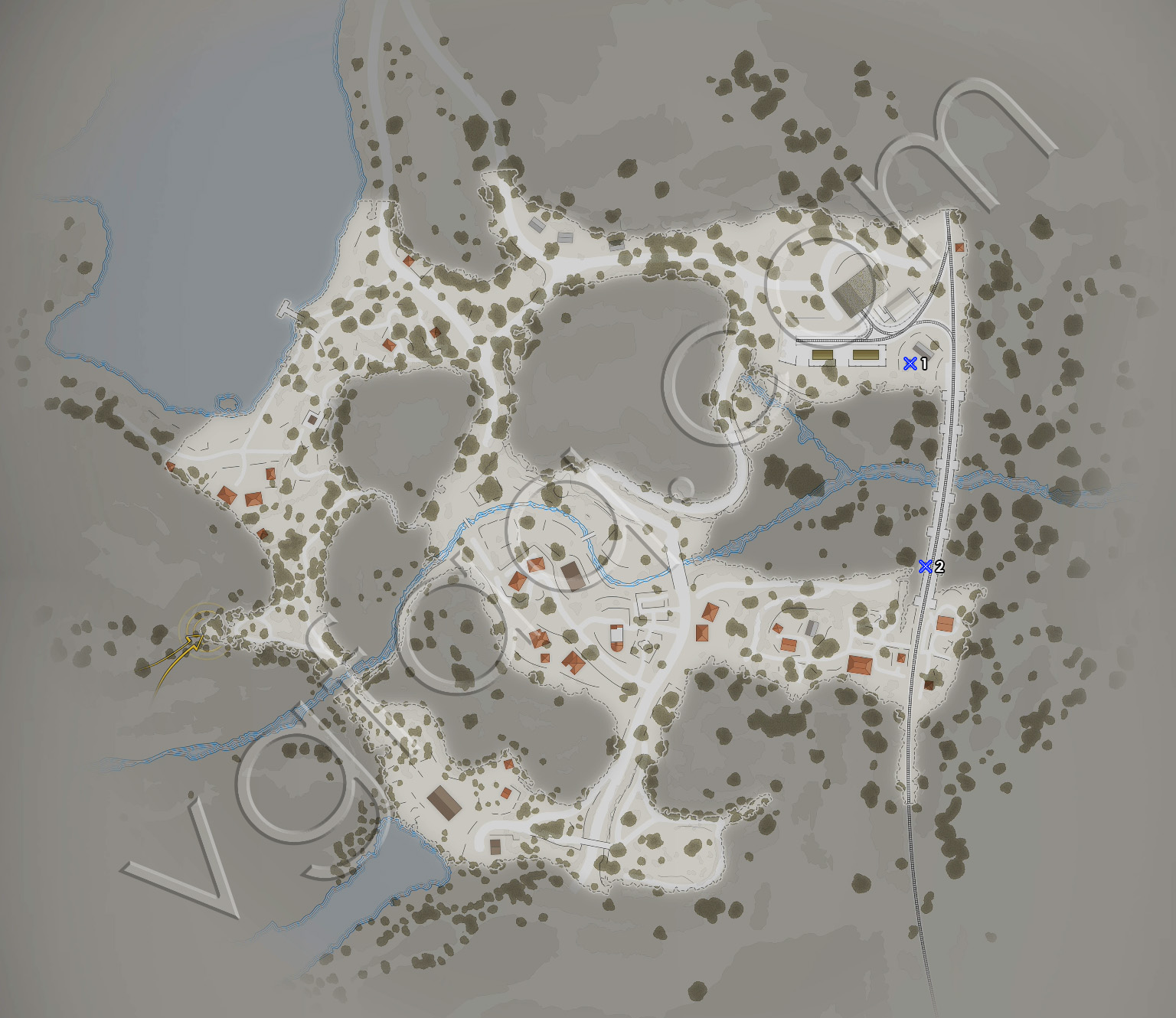 Sniper Elite 4 Mission 3 Sniper Reports Locations Map
