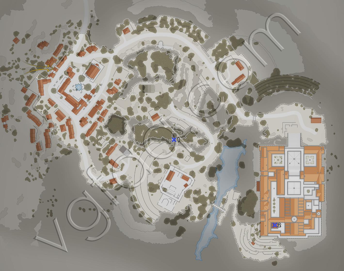 Sniper Elite 4 Mission 5 Sniper Reports Locations Map