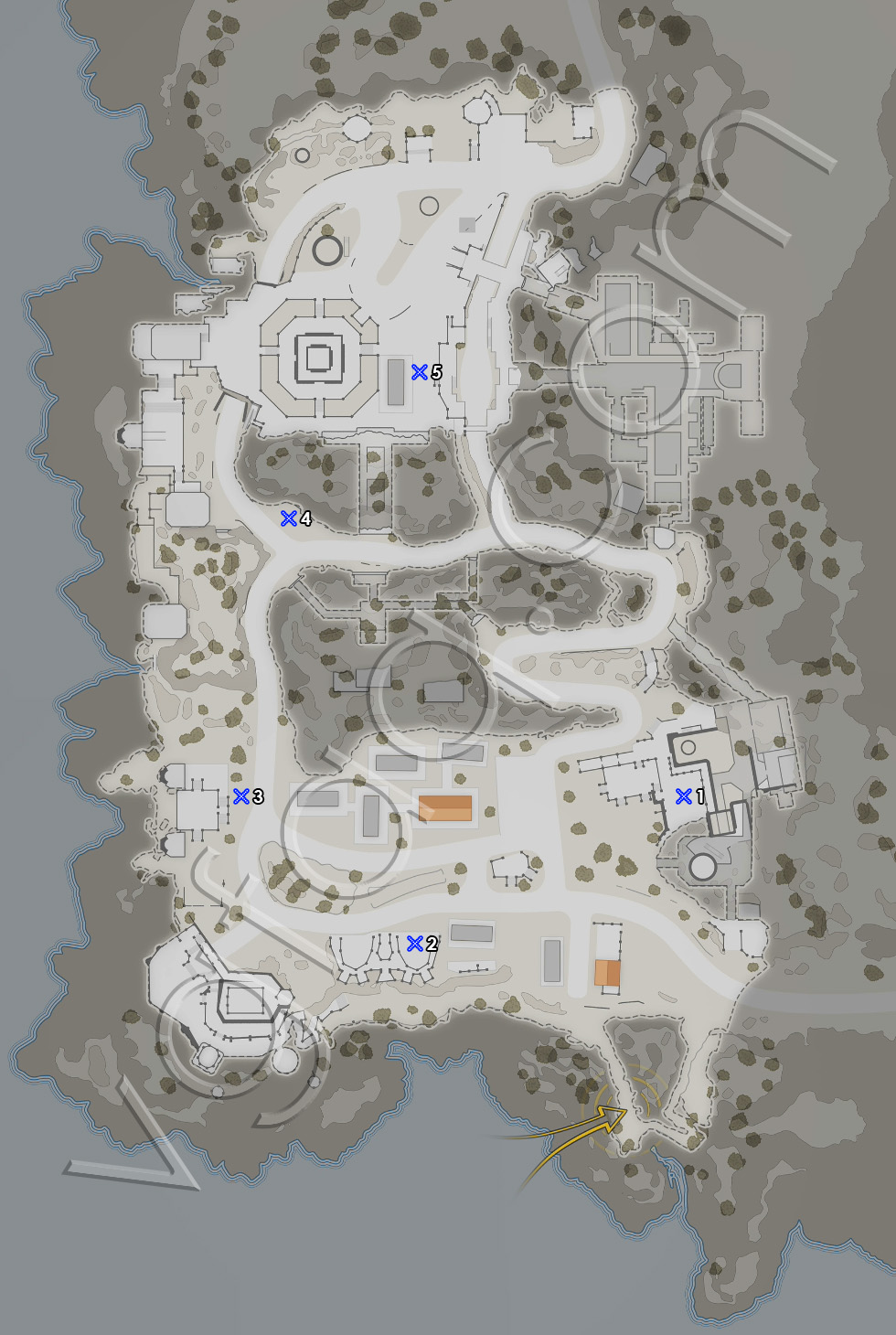 Sniper Elite 4 Mission 6 Last Letters Locations Map