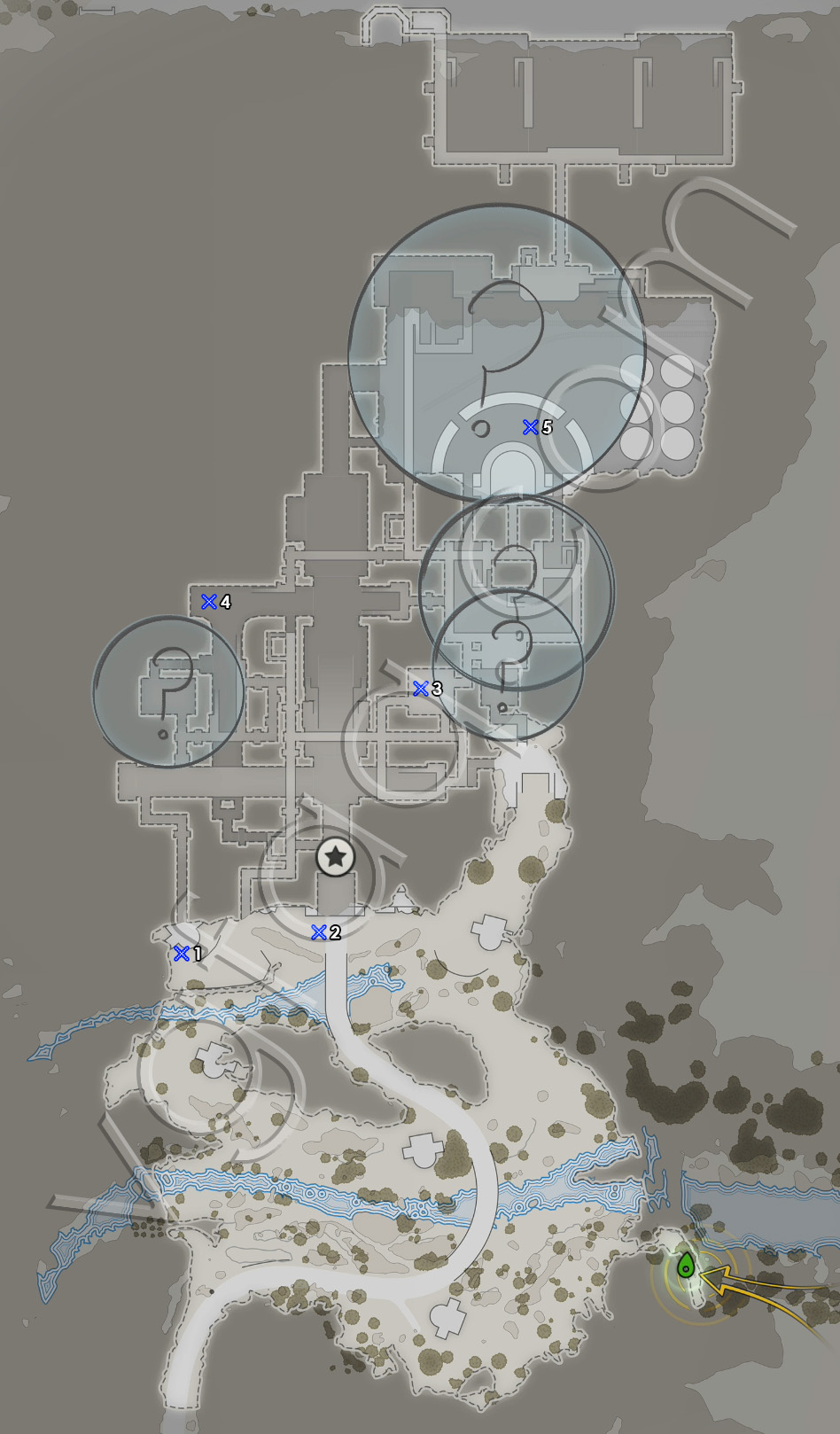 Sniper Elite 4 Mission 8 Last Letters Locations Map