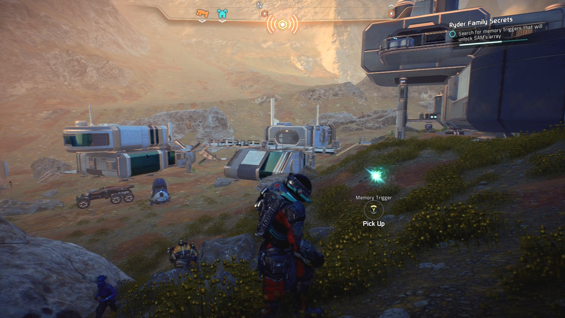 Mass Effect Andromeda Kadara Memory Trigger 1