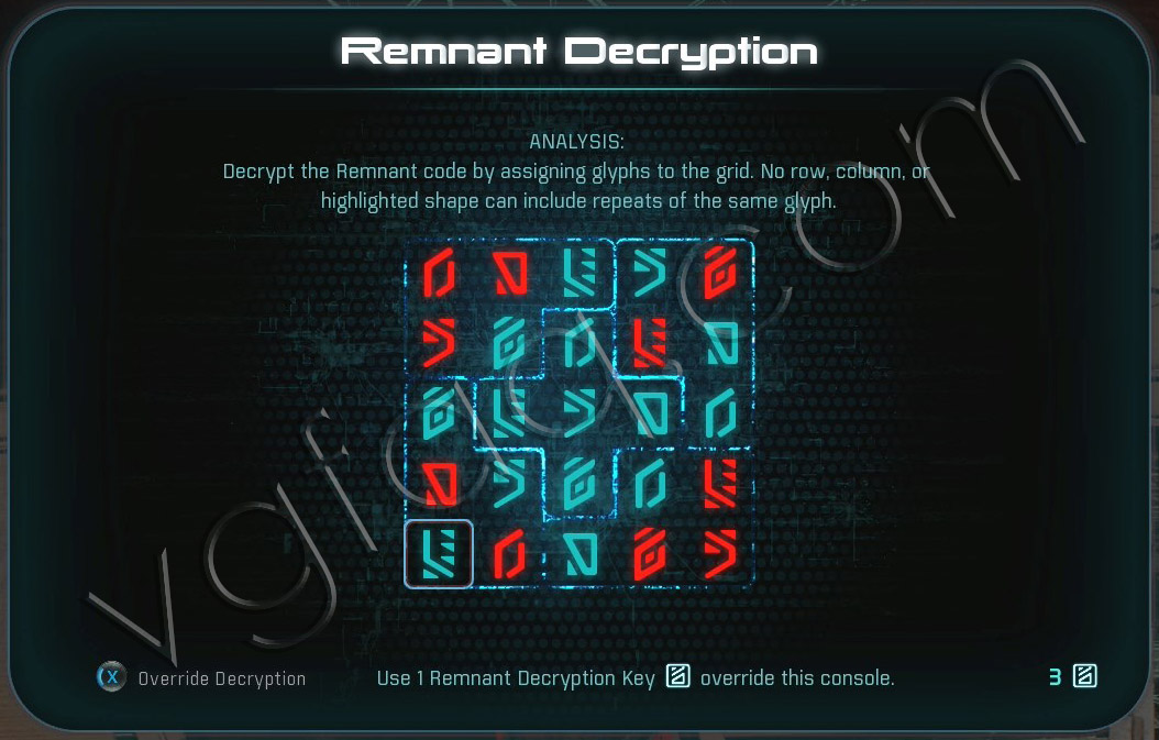 Mass Effect Andromeda Remnant Decryption Puzzle - Elaaden Monolith - Taming a Desert