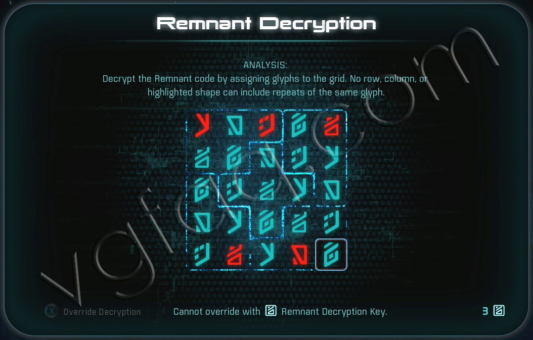 Mass Effect Andromeda Remnant Decryption Puzzle - Elaaden Remnant Vault - Taming a Desert