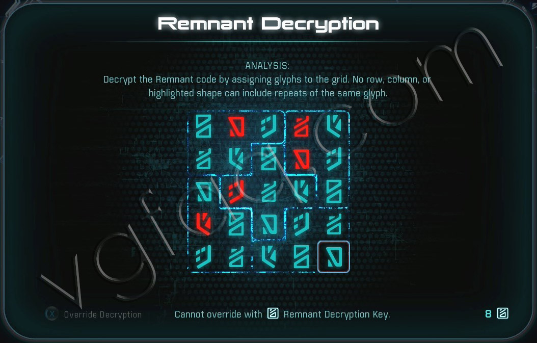 Mass Effect Andromeda Remnant Decryption Puzzle - Khi Tasira - The Journey to Meridian
