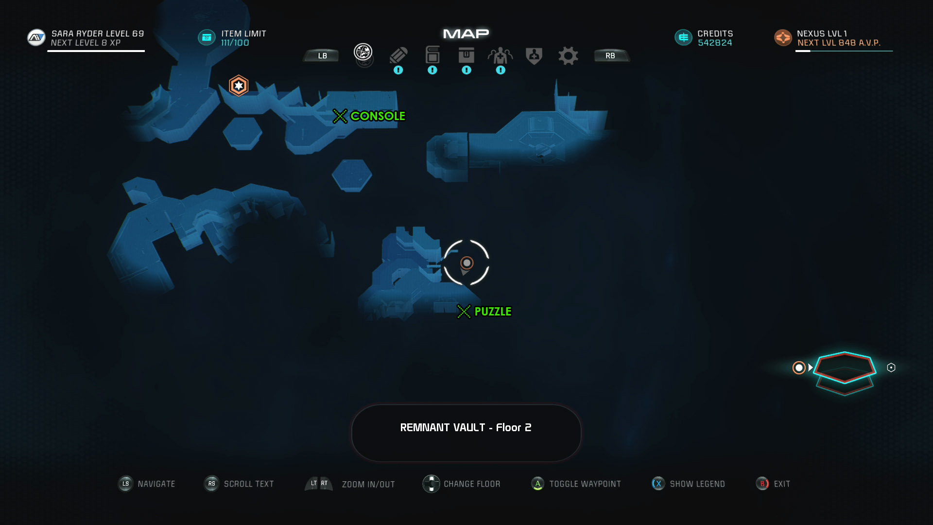 Mass Effect Andromeda Remnant Decryption Puzzle Location - Eos Remnant Vault - A Better Beginning