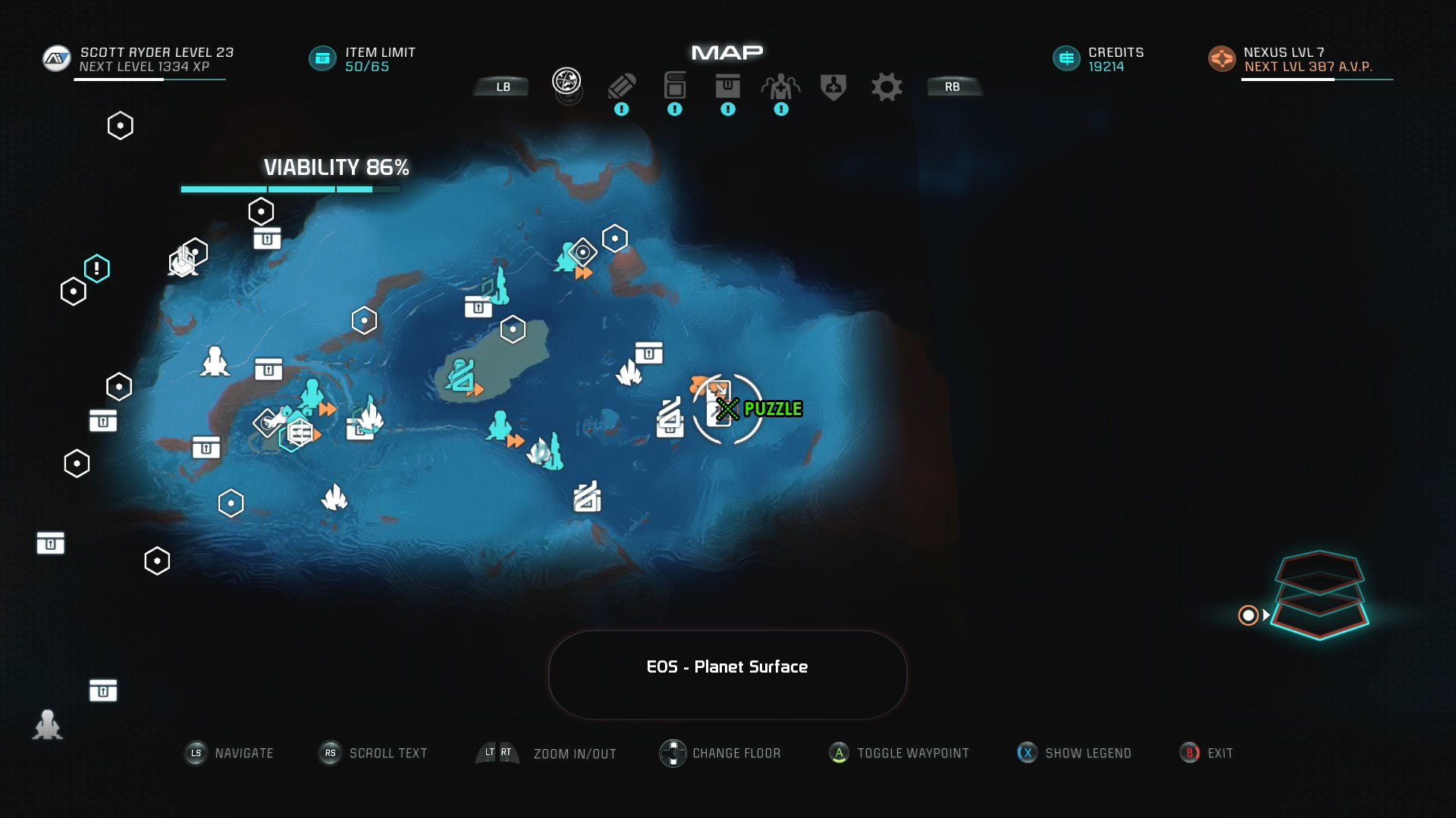 Mass Effect Andromeda Remnant Decryption Puzzle Location - Eos - Task The Ghost of Promise