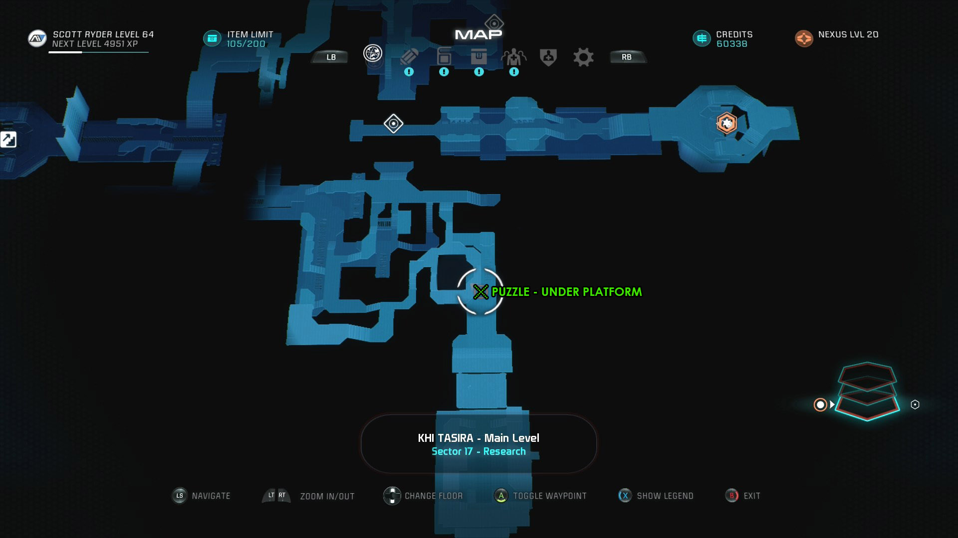 Mass Effect Andromeda Remnant Decryption Puzzle Location - Khi Tasira - The Journey to Meridian